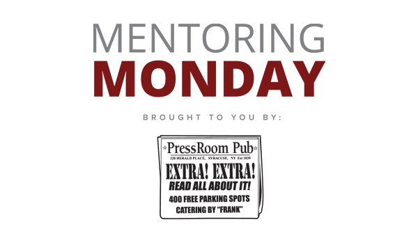 Mentoring Monday brought to you by Pressroom Pub