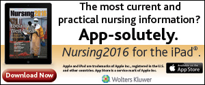 Nursing2016 for the iPad®