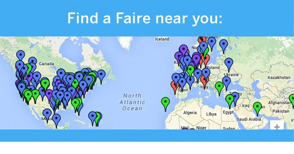 Find a Maker Faire Near You!