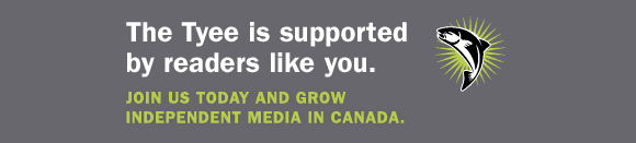 The Tyee is supported by readers like you. Join us today and grow independent media in Canada.