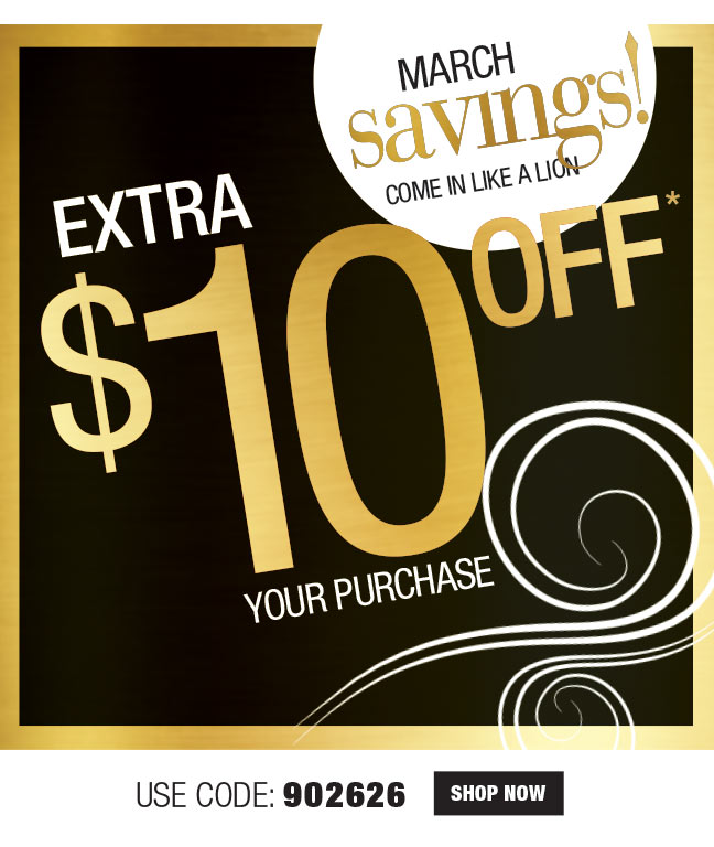 $10 OFF WIGS $49+