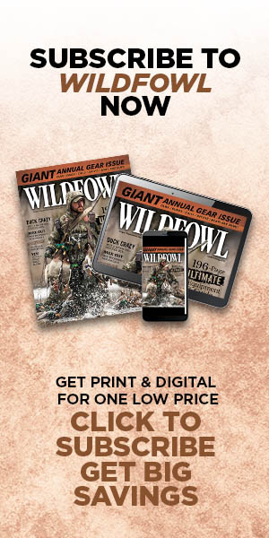 Subscribe to Wildfowl Now!