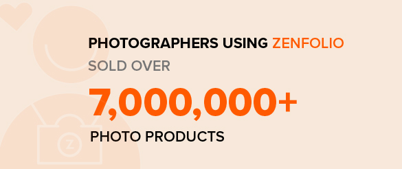 Photographers using Zenfolio sold over 7M photos products