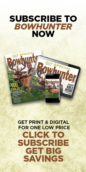 Subscribe to Bowhunter Now!