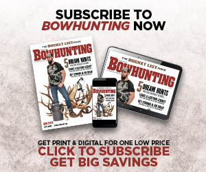 Subscribe to Bowhunting Now!