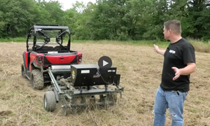Field Tested: Micro Food Plots Master Series Cultipacker